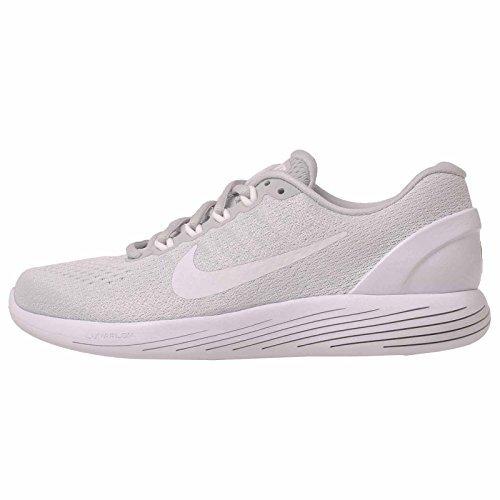 837e68b1fd13 Galleon - Nike Women s Lunarglide 9 Pure Platinum White White Womens  Running Shoes Size 10 B(M) US