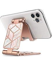 i-Blason Mobiltelefonstativ, justerbart mobiltelefonstativ, hållare telefondockningsvagga multivinkel kompatibel med alla smarttelefoner- marmor