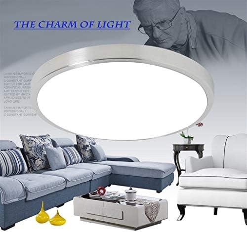 LED-Deckenbeleuchtung Lampen Moderne Schlafzimmer Wohnzimmer Lampe Surface Mounting Balkon 18w 24w 30w 36w 40w 48w AC 110V / 220V Decken Dekor (Body Color : A)