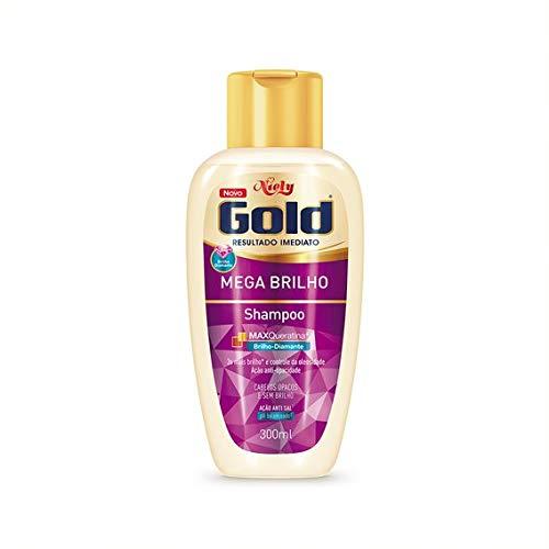 Gold Shampoo Mega Brilho Niely