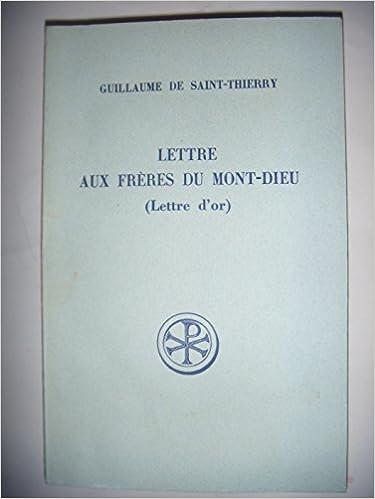 Télécharger en ligne Lettre aux frères du Mont-Dieu pdf, epub