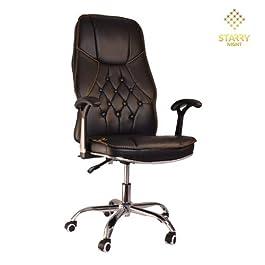 Starry Night Executive Office Chair Ergonomic High Back, Black