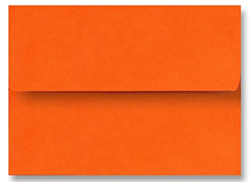 Free Shipping 100 Boxed Pumpkin Orange Envelopes for 5
