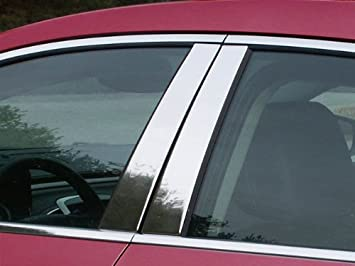 Stainless Steel Pillar Post Chrome Trim 4PC For Buick LaCrosse 2005-2009