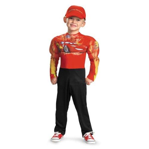 Lightning Mcqueen Classic Muscle Costume - Medium (7-8)