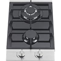 Ramblewood high efficiency 2 burner gas cooktop(Natural Gas), GC2-48N