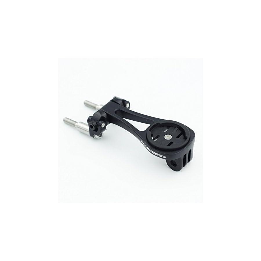 Fouriers Bike Stem Extension Bracket Computer Mount GPS Holder For GARMIN Edge 1000 800 500 Gopro Camera