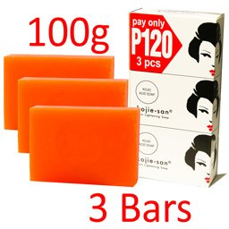 KOJIE SAN SOAP, ALL VARIANTS, (SKIN LIGHTENING SOAP 3X100GRAMS) by Kojie San