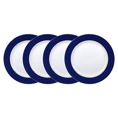 Mikasa Jet Set Blue Set of 4 Accent Salad Plates, 8-1/4-Inch Lifetime Brands Inc.