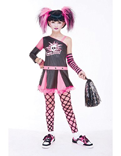 [Paper Magic Group Gothic Cheerleader - Extra Large 14-16] (Cute Gothic Girl Halloween Costumes)