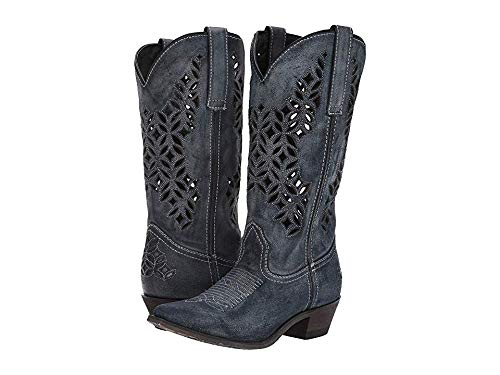 (Laredo Western Boots Womens Chopped Out 13