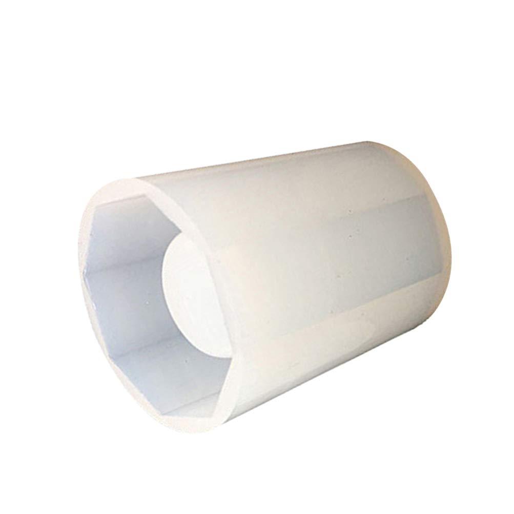 SUPVOX fai da Te Cristallo Contenitore epossidico Stampo in Silicone portapenne Contenitore portapenne Scatola portaoggetti Stampo per Uso Quotidiano Piccola Forma Ottagonale Bianca