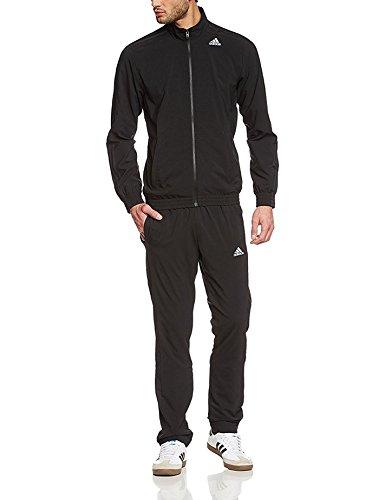 Adidas S TS ESS WV Tute da ginnastica Uomo Nero UK 40/42 (EU 180)M