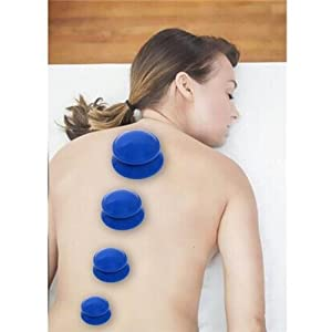 ANGELS--4PCS Silicone Anti Cellulite Massage Vacuum Therapy Body Facial Cups Cupping Y