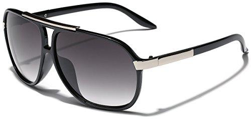 Classic 80s Fashion Aviator Sunglasses Retro Vintage Men's