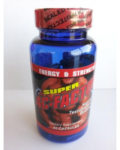 #1 Testosterone Booster Supplement 4C-FACTOR - 4 Week Cycle - 100% Proven Increase in Testosterone by All Nue