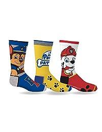 Paw Patrol Boys Sport Socks 3 Pairs Size 6-8
