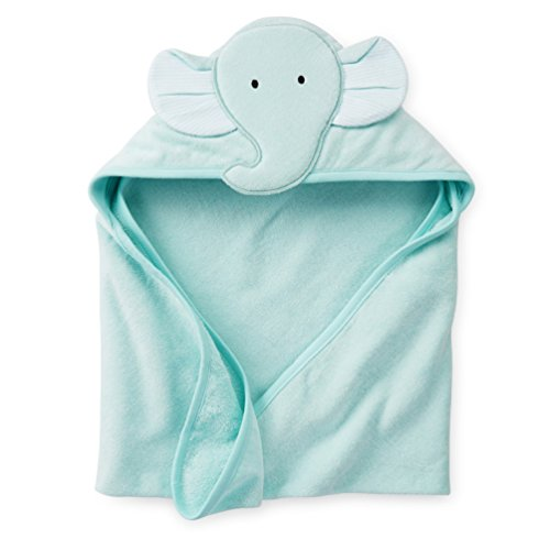 [Baby Cotton Animal Costumes Hooded Blankets Infant Terry Bath Towel Care Clothing (sky blue)] (Dachshund Giraffe Costumes)