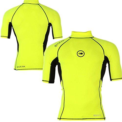 HOT TUNA Badeshirt Kinder Schwimm Shirt Rashguard UV + 50 Wakeboard Surfen 152 - 158