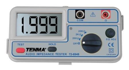 - Tenma 72-6948 Audio Impedance Meter