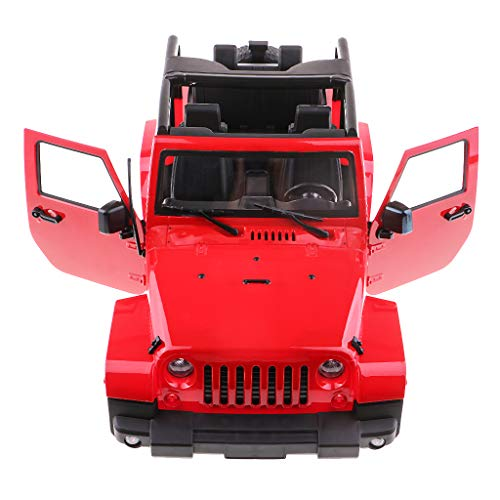 Fityle 1/10th RC Rock Crawler Hard Plastic Body Shell for Wrangler Axial SCX10 D90