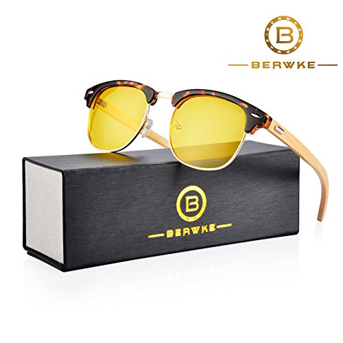 Driving Glasses For Men Women Anti Glare Polarized Sunglasses HD Night Vision Safe - Glasses Men Driving For