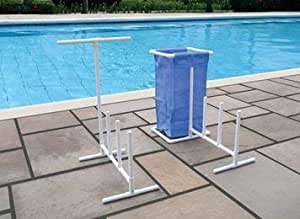 Raft float towel caddy with hamper for - Free swimming pool maintenance software ...
