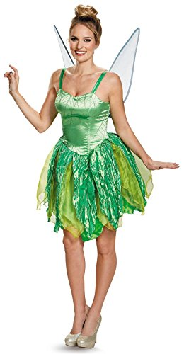 Disguise Costumes Tinker Bell Prestige Costume (Adult), Small (4-6) (Womens Tinkerbell Costume)