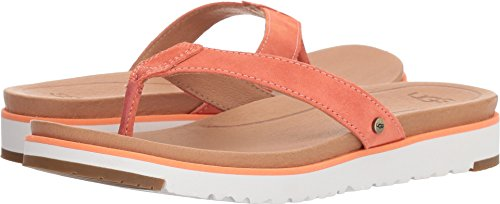 - UGG Women's Lorrie Flat Sandal, Fusion Coral, 11 M US