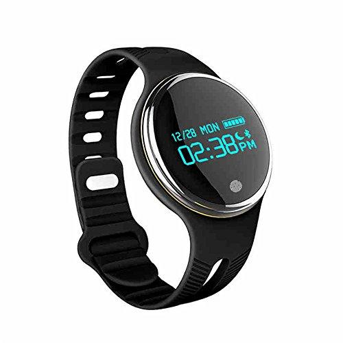 Amazon.com : Bluetooth Smart Bracelet Sports Fitness Tracker Smart Wristband Water Resistant, Pedometer Watch OLED Screen (Black) : Sports & Outdoors