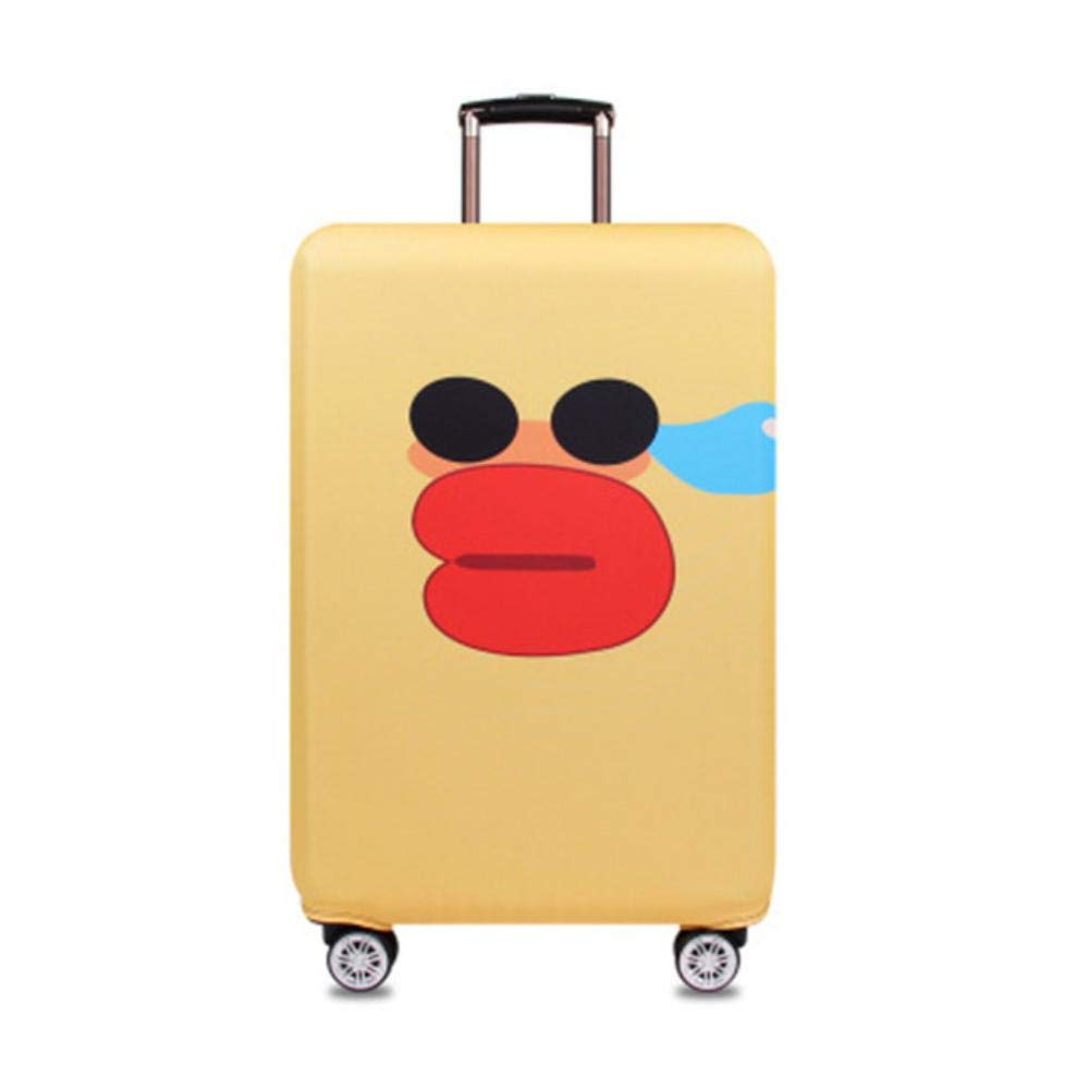 L,Venice BomBomStore Pattern Elastic Travel Luggage Suitcase Protect Sheath Pull Rod Box Thickening Dustproof Cover