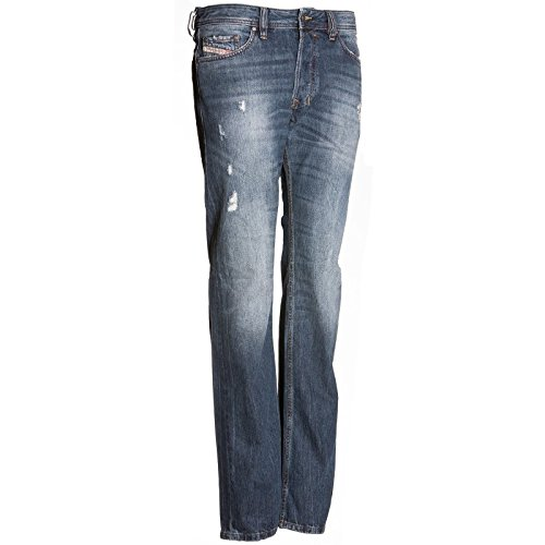 Diesel M 5 pockets DE 00C03G 0RBE4 SAFADO L.32 PAN, Color: Blue, Size: 31/32 ()