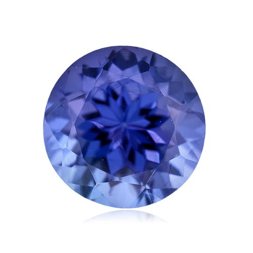 Mysticdrop 1.07-1.22 Cts of 6.5 mm AAA Round Arusha Tanzanite (1 pc) Loose Gemstone by Mysticdrop (Image #2)