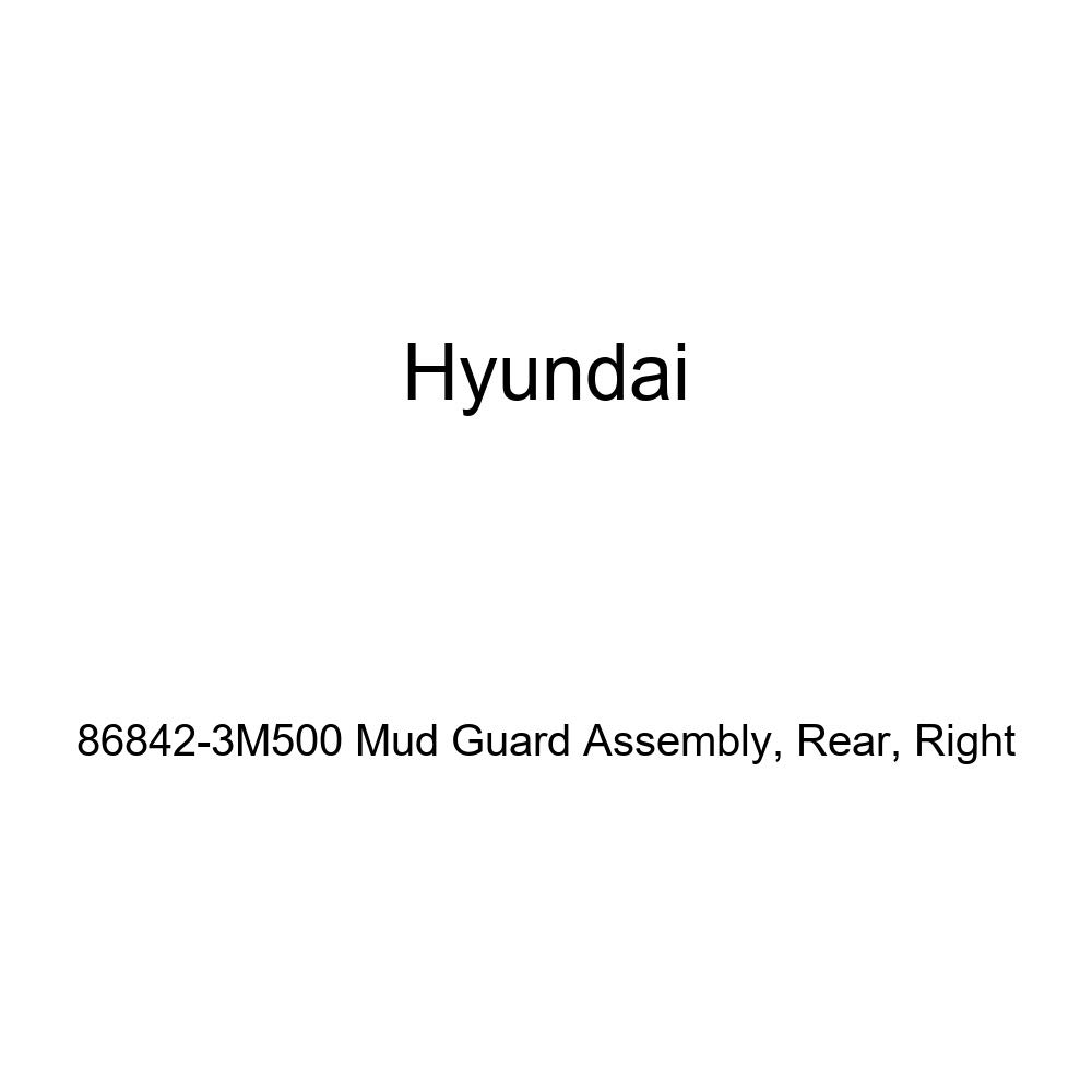 Rear Right HYUNDAI Genuine 86842-3M500 Mud Guard Assembly