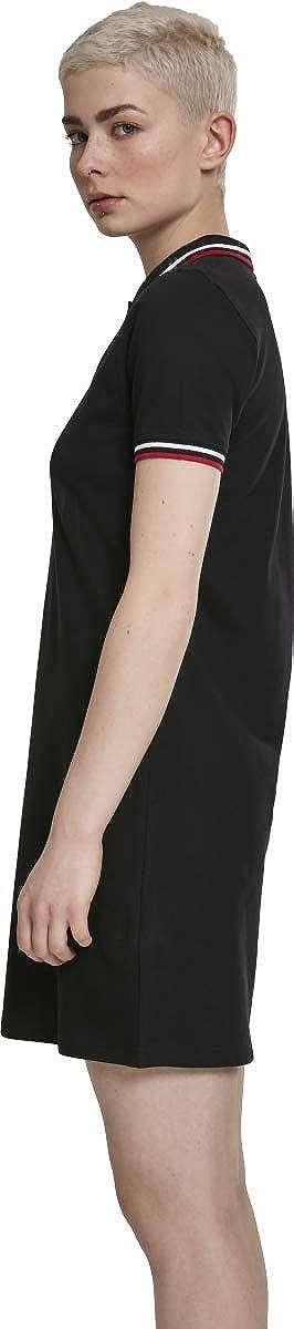 Urban Classics Ladies Polo Dress Vestito Donna