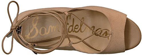 Sam Edelman Womens Harriet-1 Espadrille Wedge Sandal Golden Caramel Suede
