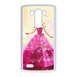 Rltow Unique Design Cases LG G3 Cell Phone Case Barbie Printed Cover Protector