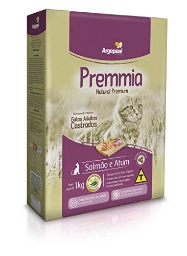 Ração Seca Premmia para Gatos Adultos Sabor Salmão e Atum - 1kg