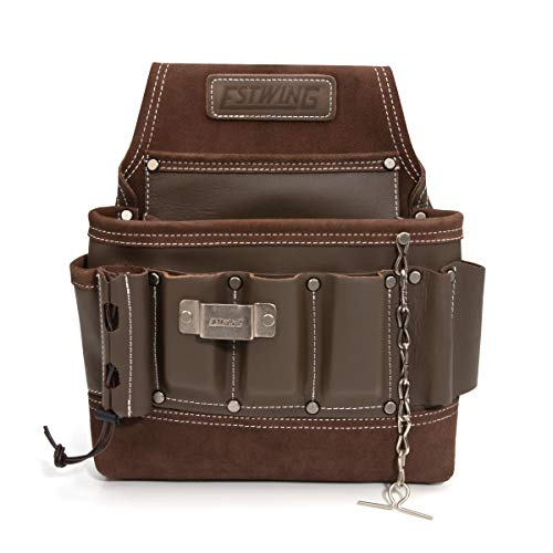 Estwing 94749 8-Pocket Leather Electrician