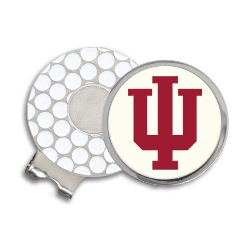 (Indiana University Block IU Golf Ball Hat Clip. IUHC9022F)