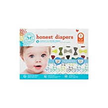 The Honest Company Diapers, bicycles & bow ties, 68 Count