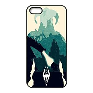 Generic The Elder Scrolls Series Skyrim Theme Snap-on Case for iPhone 5/5S