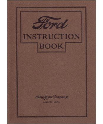 amazon com 1927 ford model t owners manual user guide automotive rh amazon com ford user manual tractor wiring loom 4610 ford user manual focus