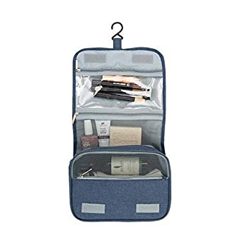 Annana Hanging Toiletry Bag – 3 Tier Travel Toiletry Bag – Makeup ... 55548776c076f
