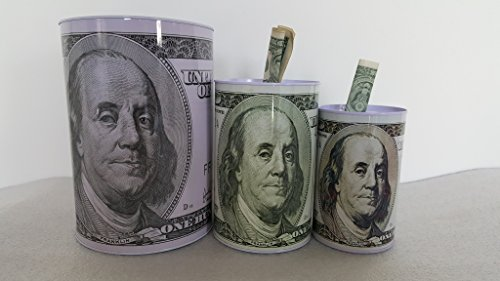 medium Dollar moneybox Benjamin Franklin