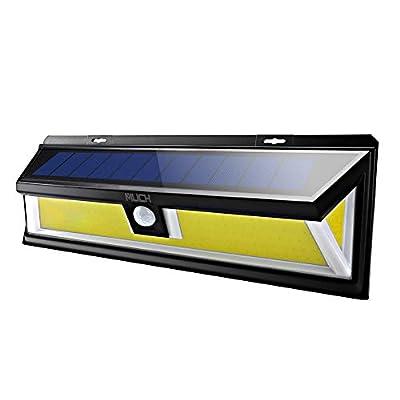 Solar Lights Outdoor,Super-Bright 180 COB LED Solar Powered Motion Sensor Lights Outdoor,Optional 3 Lighting Modes Solar Security Night Lights for Lawn Garden Patio Yard Porch Driveway Pathway Garage