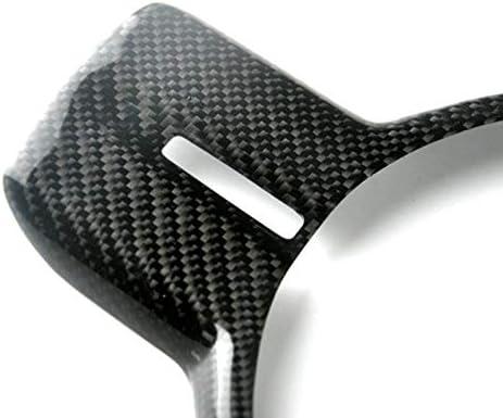 PQZATX Real Carbon Fiber Steering Wheel Frame Panel Cover Trim for GT86 BRZ