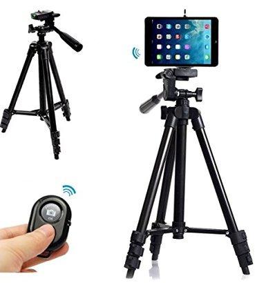 Professional Camera Tripod Mount Holder+Bluetooth Remote Shu