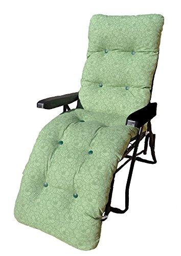 Tumbona de jardín reclinable multiposición relajante silla ...