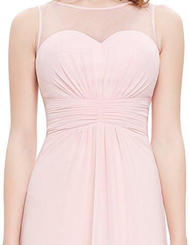 Ever Pretty - Vestido - trapecio - para mujer Rosa MDL(B)